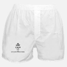Keep calm and love Soft-Coated Wheate Boxer Shorts
