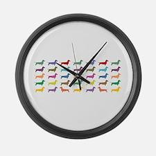 dach-multi-mug.png Large Wall Clock