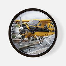 Beaver float plane Wall Clock