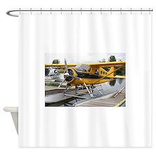 Beaver float plane Shower Curtain