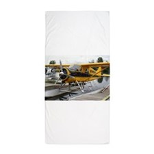 Beaver float plane Beach Towel