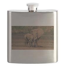 elephants Flask