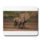 Elephants Mouse Pads