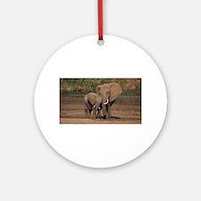 elephants Ornament (Round)