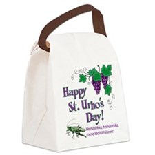 Happy St. Urho's Day Canvas Lunch Bag