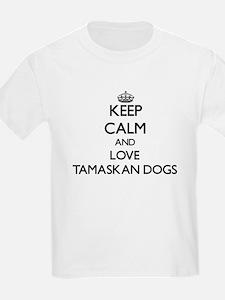 Keep calm and love Tamaskan Dogs T-Shirt