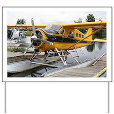 Beaver float plane Yard Sign