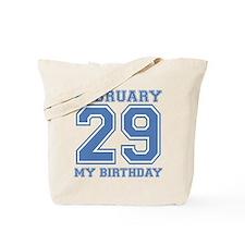 February 29 My Birthday Tote Bag