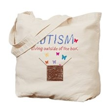 autism-outsidethebox.png Tote Bag