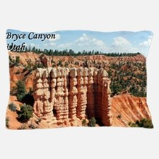 Bryce Canyon, Utah (with caption) Pillow Case