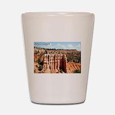 Bryce Canyon, Utah (with caption) Shot Glass