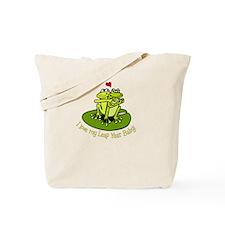 leapyear-lovemybaby.png Tote Bag