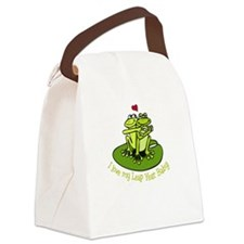 leapyear-lovemybaby.png Canvas Lunch Bag