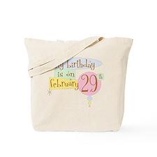 birthdayonB.png Tote Bag