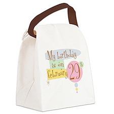 birthdayonB.png Canvas Lunch Bag