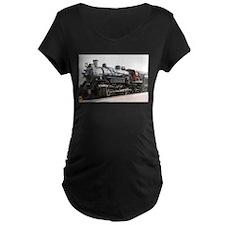 Grand Canyon Railway, Williams, Maternity T-Shirt