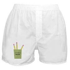 Writer's Block! Boxer Shorts