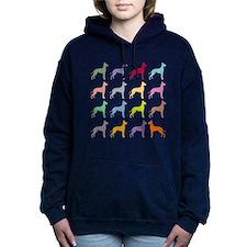 gd-multi.png Women's Hooded Sweatshirt
