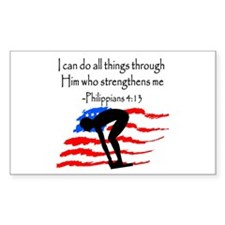 SWIMMER BLESSING Decal