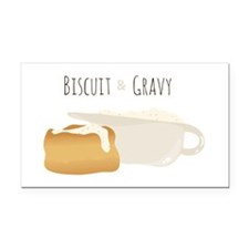 Biscuit & Gravy Rectangle Car Magnet