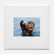 otter Tile Coaster
