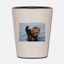 otter Shot Glass