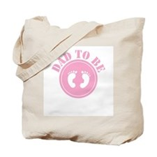 misc-dadtobe-pink.png Tote Bag