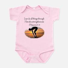 SWIMMER BLESSING Infant Bodysuit