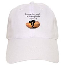 SWIMMER BLESSING Baseball Cap