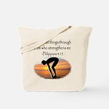 SWIMMER BLESSING Tote Bag