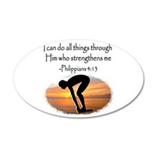 SWIMMER BLESSING Wall Decal