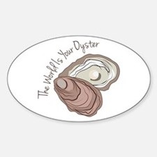 Your Oyster Decal