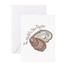 Your Oyster Greeting Cards