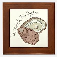 Your Oyster Framed Tile