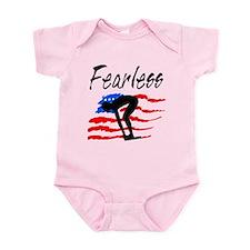 FEARLESS SWIMMER Infant Bodysuit