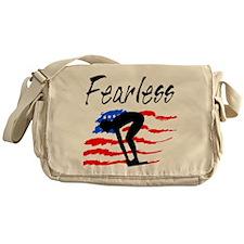 FEARLESS SWIMMER Messenger Bag