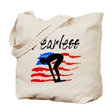 FEARLESS SWIMMER Tote Bag