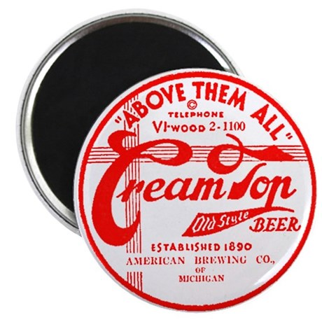 Cream Top Beer-1936 Magnet