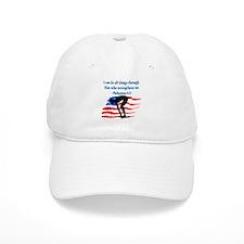 CHRISTIAN SWIMMER Baseball Cap
