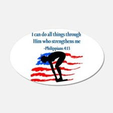 CHRISTIAN SWIMMER Wall Decal