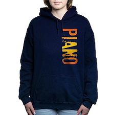 stamp-pianoB.png Women's Hooded Sweatshirt