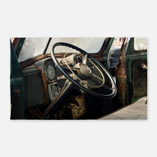 Steering Wheel Area Rug