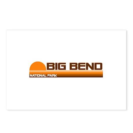 Big Bend National Park Postcards (Package of 8)