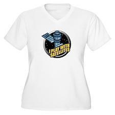 playwithsatellites Plus Size T-Shirt