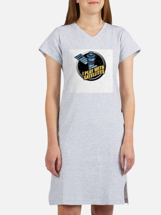 playwithsatellites.png Women's Nightshirt
