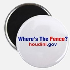 Where's The Fence Magnet
