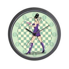 pu-salonbabe.png Wall Clock