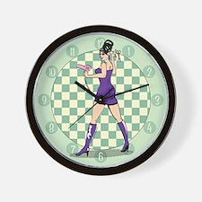 pu-salonbabe.png Wall Clock