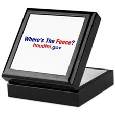 Where's The Fence Keepsake Box