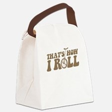 uni-howiroll.png Canvas Lunch Bag